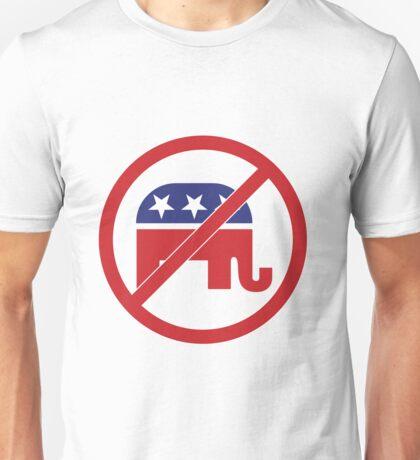 No Republicans Vote Democrat Unisex T-Shirt