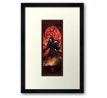 BBC Merlin: The Dragon Rises (Merlin) Framed Print