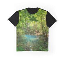 Ochiul Beiului lake in Romania Graphic T-Shirt