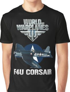 World of Warplanes F4U Corsair Graphic T-Shirt