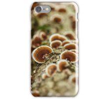 Parasite mushrooms on tree iPhone Case/Skin