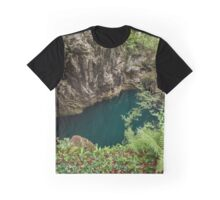 Lacul Dracului in Romania Graphic T-Shirt