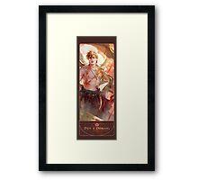 BBC Merlin: The Dragon Rises (Pen Y Ddraig) Framed Print