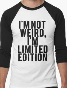 I'm Limited Edition Men's Baseball ¾ T-Shirt