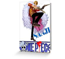 ONE PIECE ANIME COLLECTION Greeting Card