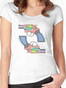 GUNS DON'T KILL, BULLETS DO Women's Fitted Scoop T-Shirt