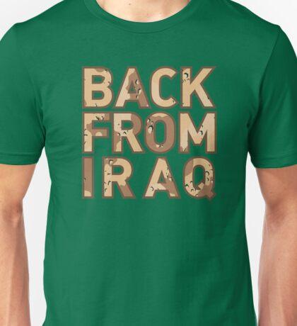 Back From Iraq - Iraq Vets Unisex T-Shirt