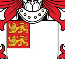 Gloucester Coat of Arms (Welsh) Sticker