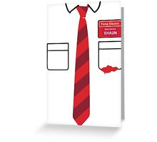 Dead Outfit Greeting Card