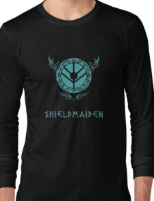 Lagertha Shieldmaiden Shirt Long Sleeve T-Shirt