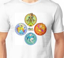 The Four Elements - Earth, Air, Fire & Water Unisex T-Shirt