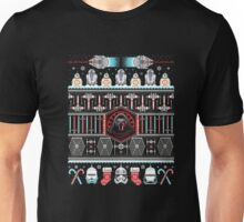 Festive Christmas Scifi Ugly Sweater T-Shirt Unisex T-Shirt