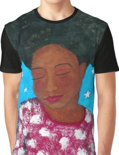 Stars in Her Dreams Graphic T-Shirt