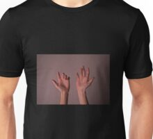 Hand Expressions - Photographic Art by Erin Ginty Unisex T-Shirt