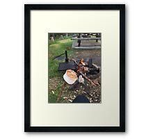 Toasted! Framed Print