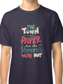 Paper Towns: Town and Memories Classic T-Shirt