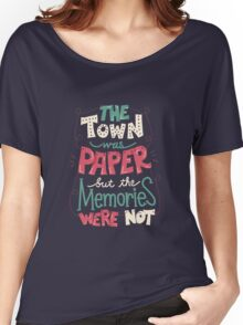 Paper Towns: Town and Memories Women's Relaxed Fit T-Shirt
