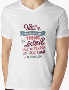 Paper Towns: Treacherous Thing Mens V-Neck T-Shirt
