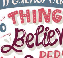 Paper Towns: Treacherous Thing Sticker