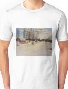 Snow In Solbrinken Unisex T-Shirt