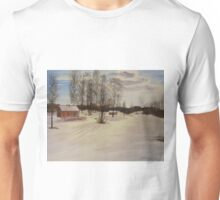 Snow In Solbrinken Unisex T-Shirt