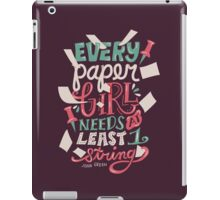 Paper Towns: Paper Girl iPad Case/Skin