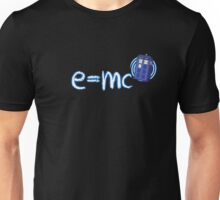 Whovian T-Shirt: Relativity of Space and Time Unisex T-Shirt