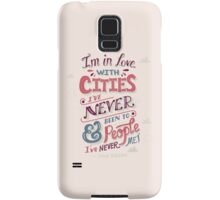 Paper Towns: Cities and People Samsung Galaxy Case/Skin