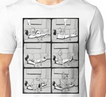 Astral Projection B&W Unisex T-Shirt