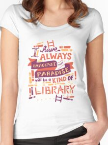 Library Women's Fitted Scoop T-Shirt