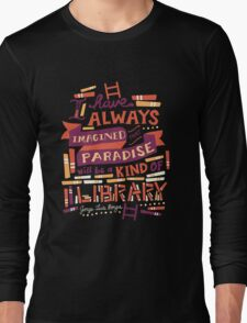 Library Long Sleeve T-Shirt