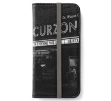 """Bright light bright city"" (Monologue)  iPhone Wallet/Case/Skin"