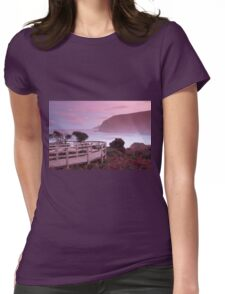 Maingon Bay at dusk Womens Fitted T-Shirt
