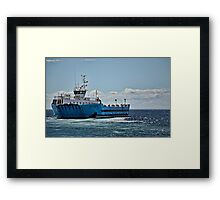 The Crux Australis off Puntas Arenas, Chile Framed Print