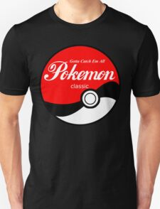 Pokeball Classic in White T-Shirt
