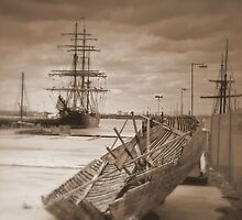 Spars, Hulls  and Dreams by Larry Lingard-Davis