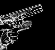 Gun  by maxkraken