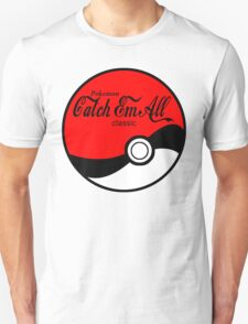 Catch Em All Ball in Black T-Shirt