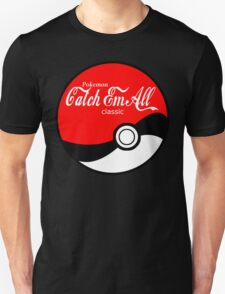 Catch Em All Ball in White T-Shirt