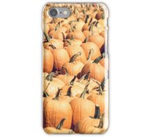 Pumpkins 22 iPhone Case/Skin