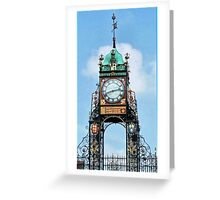 Time Marches On In Chester. Greeting Card