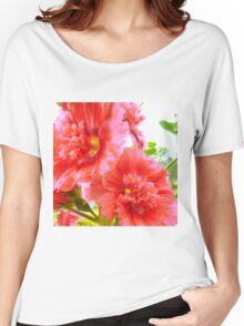 Hibiscus Classic Rose Women's Relaxed Fit T-Shirt
