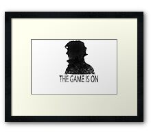 The Game is On! Framed Print