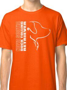 NOVA SCOTIA DUCK TOLLING RETRIEVER - outline Classic T-Shirt