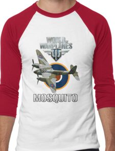 World of Warplanes Mosquito Men's Baseball ¾ T-Shirt