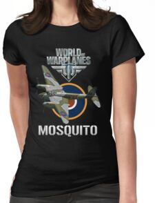 World of Warplanes Mosquito Womens Fitted T-Shirt