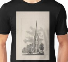 414 PE Church of the Holy Trinity corner of Clinton and Montague Streets Unisex T-Shirt