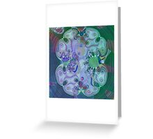 Fractal Storms 2 Greeting Card