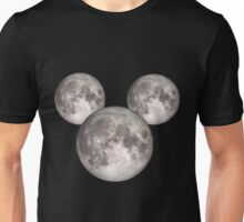 Mickey Moon BIG (see also: small) Unisex T-Shirt