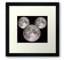 Mickey Moon small (see also: BIG) Framed Print